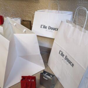 Soluzioni per l'asporto; Shopper; Carta; Personalizzati
